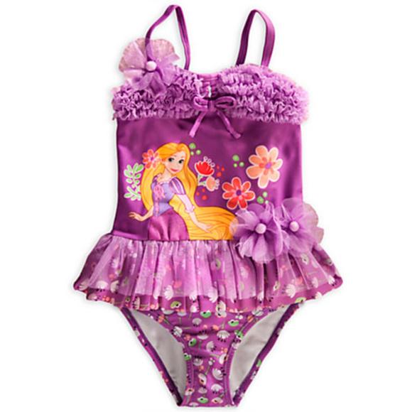 f5af7c6f58f72 Disney Swim   Store Tangled Rapunzel Suit Girl Size 2   Poshmark